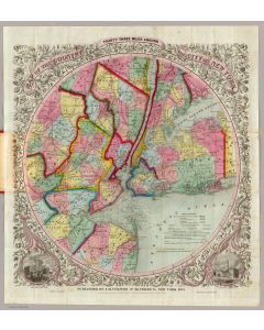 Around The City Of New York, 1853