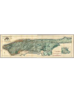 Sanitary & Topographical Map of the City and Island of New York, 1865