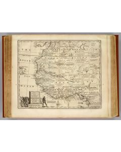 Negroland, adjacent countries, 1747