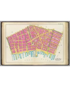 Manhattan, Pl. 3: wards 2, 4, 7, 1891