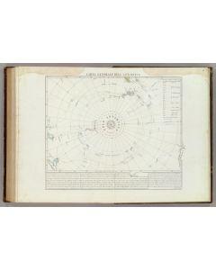 Carta generale del Polo Antartica, 1842
