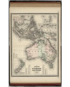 Australia and East Indies, 1886