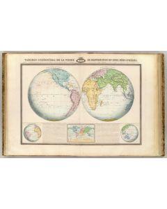 Mappemonde, 1862