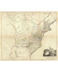 (Composite of) A map of the United States of North America, 1802