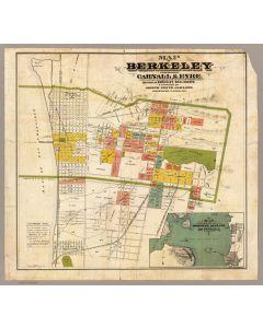 Map of Berkeley, 1880