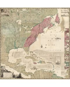 Composite: A Map of the British Empire in America, 1746