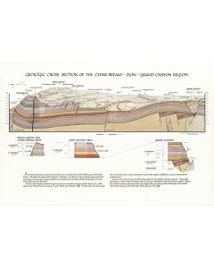 Geologic Cross Section of the Cedar Breaks - Zion - Grand Canyon Region, 1985