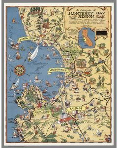 Monterey Bay Region, 1932