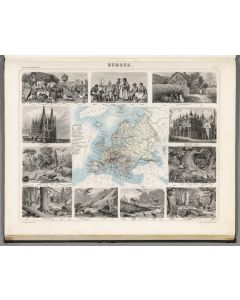 Europa, 1863