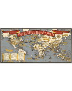 Tea revives the world. MacDonald Gill, 1940