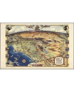 Historic Road to Romance : California's Southern Empire tourist paradise, 1946