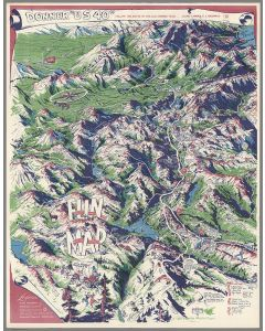 """Donner """"U.S. 40"""", Follow the Route of the Old Donner Trail, 1955"""