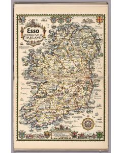 Esso Pictorial Plan of Ireland, 1933